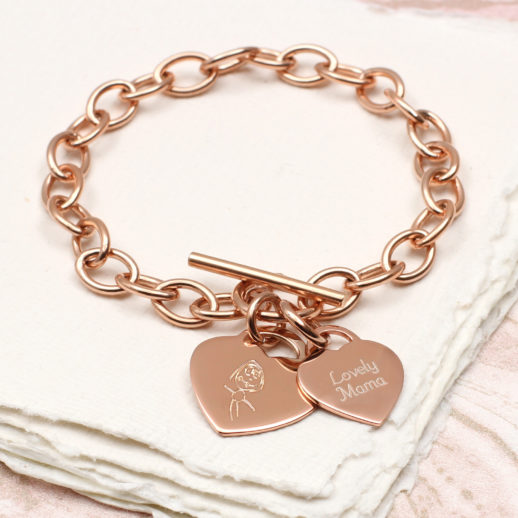 personalised-solid-rose-gold-bracelet-mothers-day