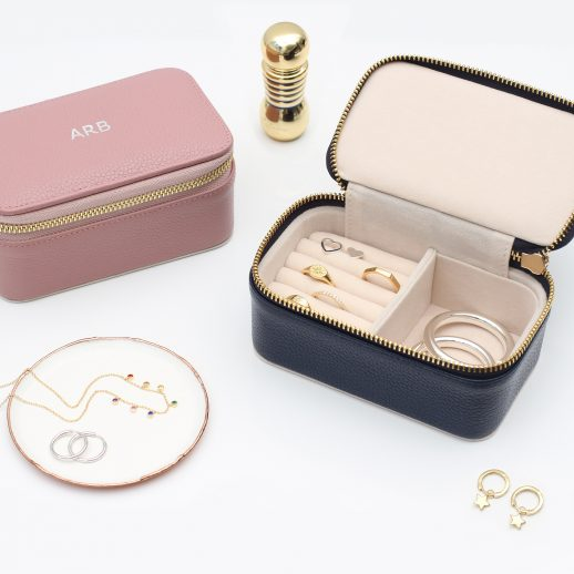 MiniEmbossedJewelleryBox