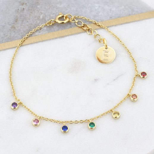 48Y - Verdana - Rainbow Bracelet