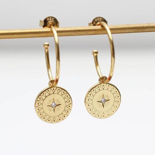 original_18ct-gold-compass-charm-hoop-earrings-1