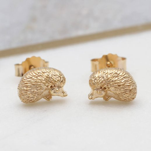 original_18ct-gold-or-silver-baby-hedgehog-stud-earrings-1
