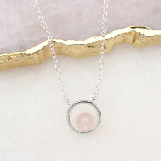original_sterling-silver-and-rose-quartz-hoop-necklace-1