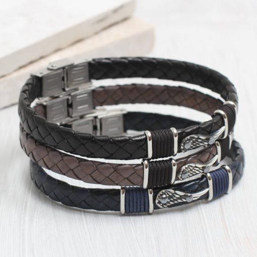 original_personalised-men-s-angel-wing-leather-bracelet-1