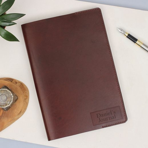 antique-leather-journal-personalised-recycled