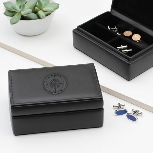 cufflink-box-personalised-leather-accessories-compass-mens