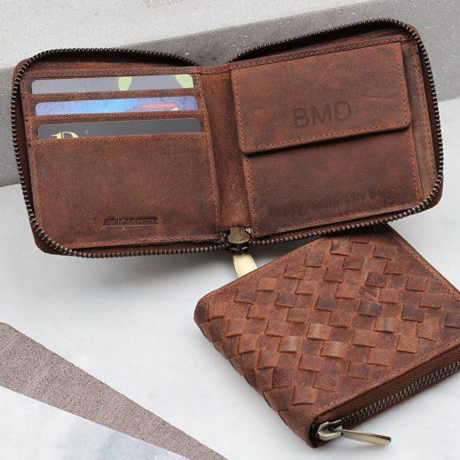 original_personalised-woven-leather-zip-wallet