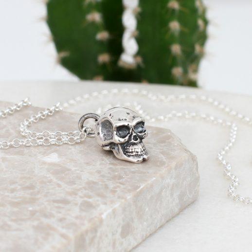 SilverSkullNecklace